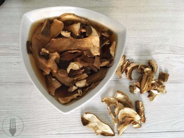 funghi champignons italiens recette