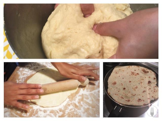 Préparation piadina recette italienne