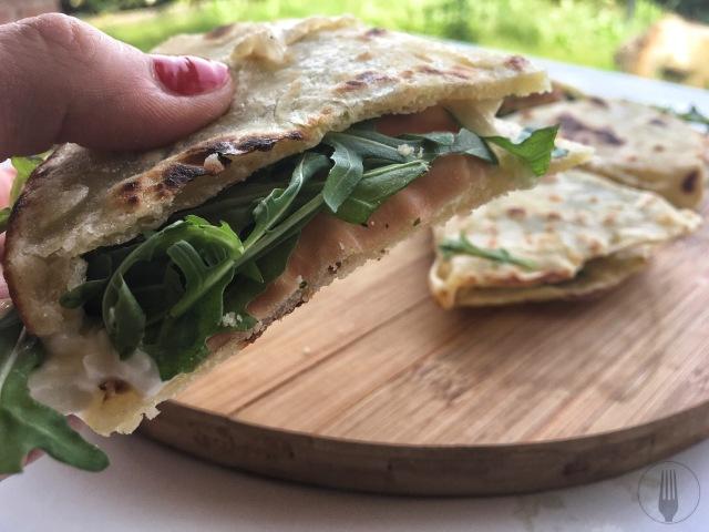 recette traditionelle italienne de la piadiana romagnola