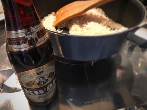 Recette risotto à la bière et boulets
