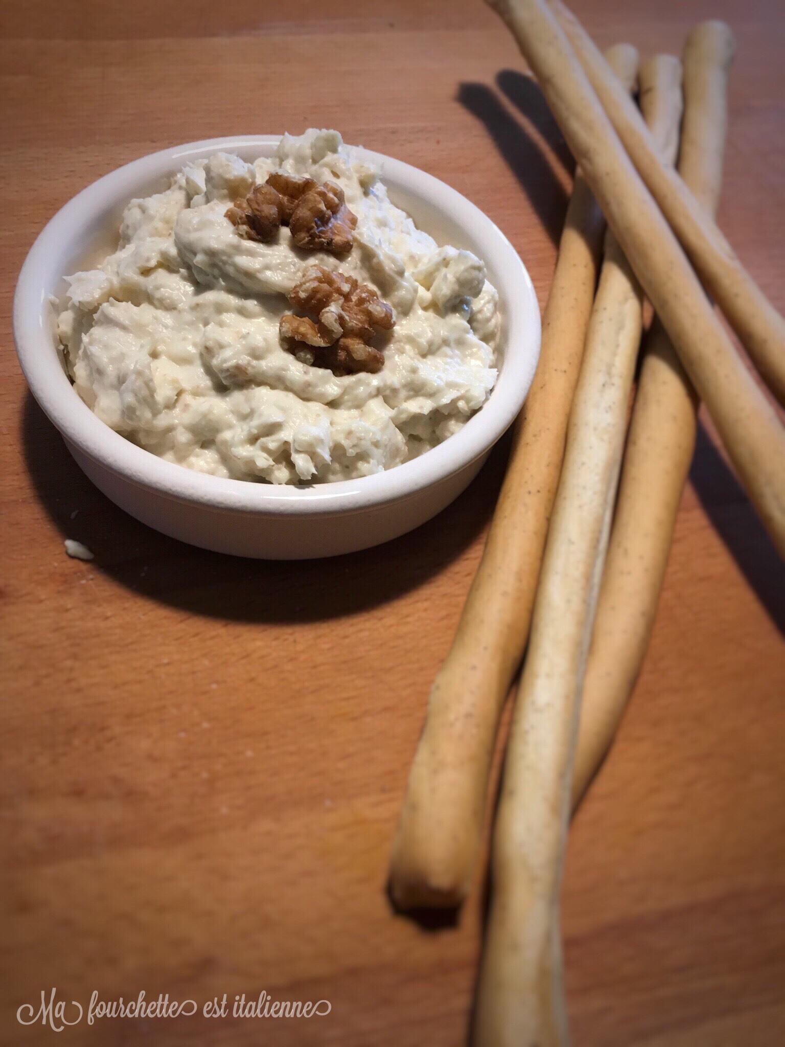 Recette crème au gorgonzola