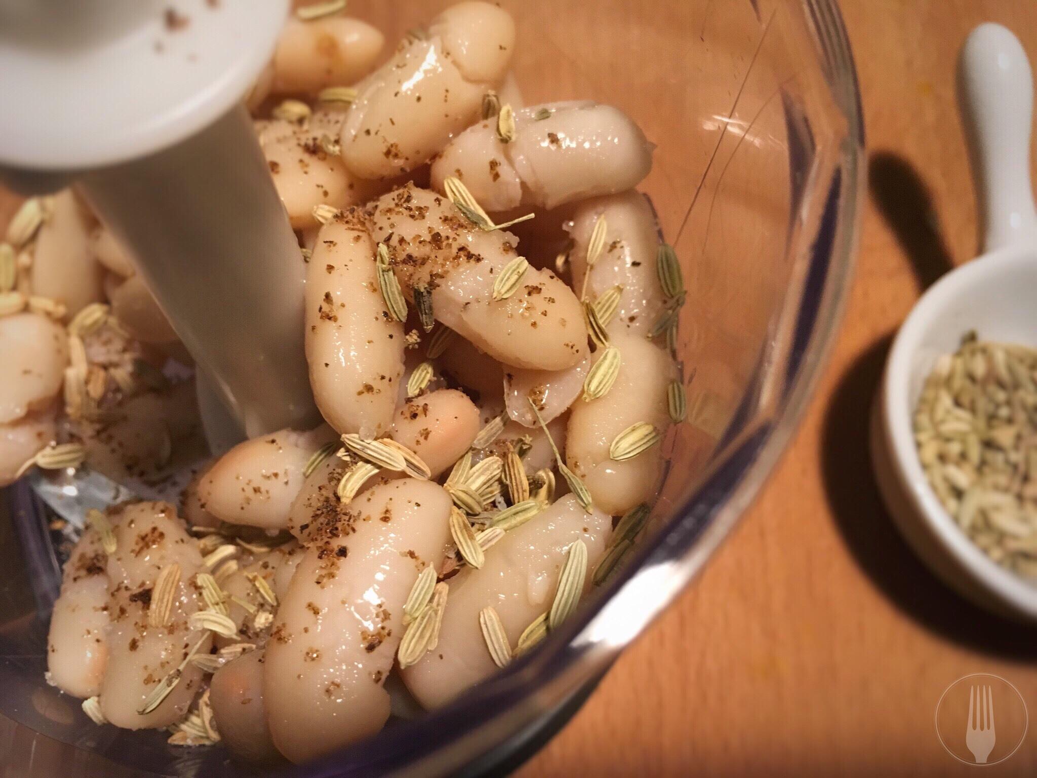 Recette crème aux haricots blancs et fenouil
