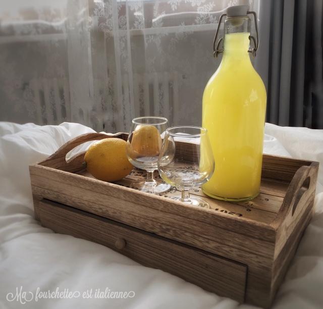 Recette limoncello fait maison