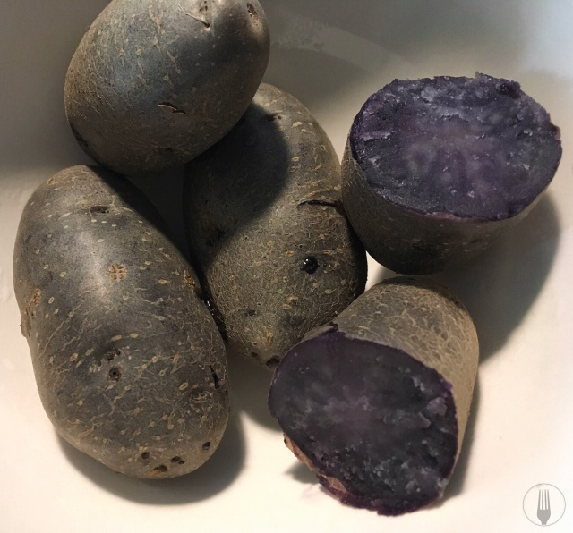 Recette gnocchi de pomme de terre vitelotte