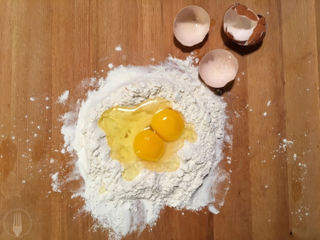 Recette ravioles fraîches noix poire gorgonzola