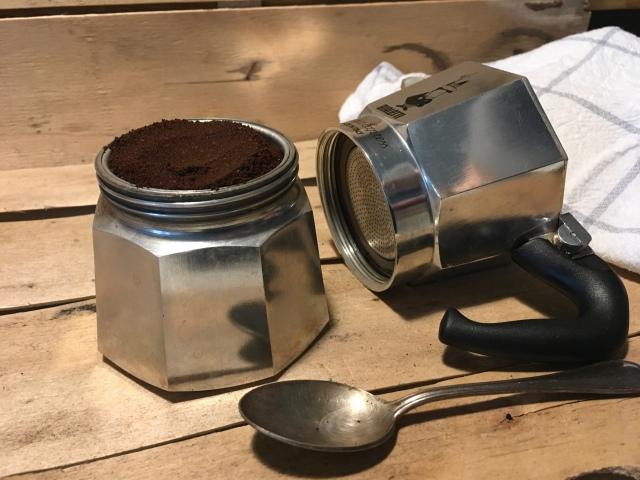 Café italien avec moka