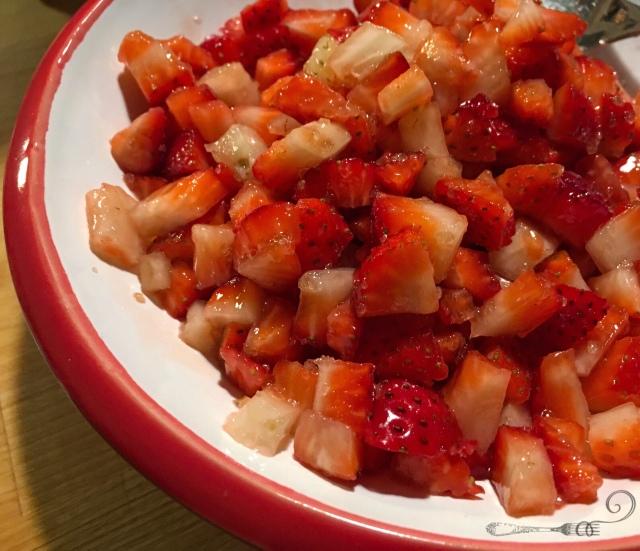 Recette tiramisu glacé aux fraises