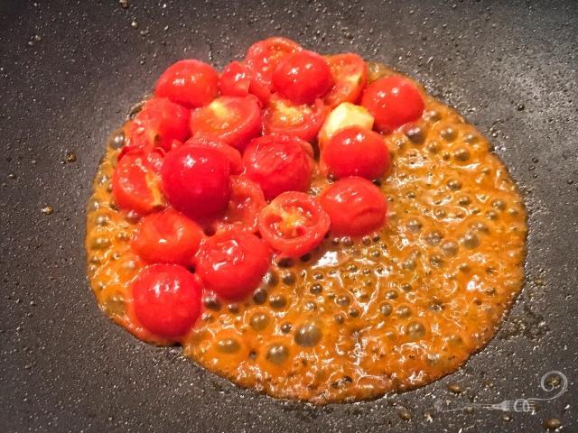 Recette italienne pasta allo scarpariello - les pâtes du cordonnier