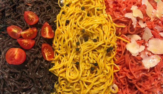 Recette pâtes fraîches colorées