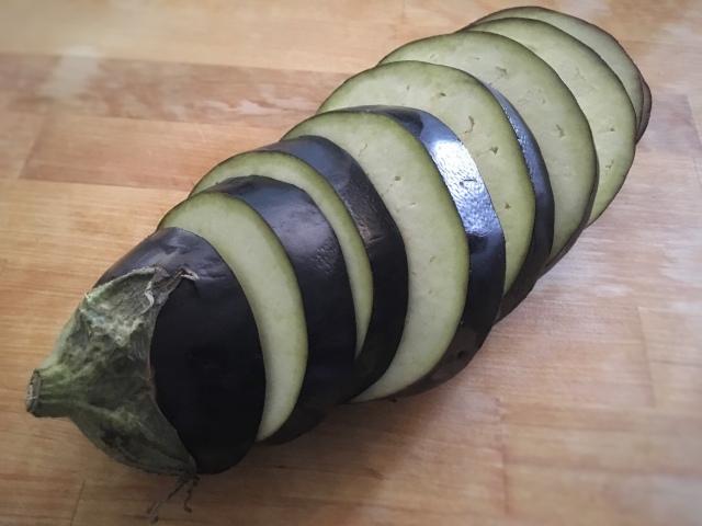 Recette roulades d'espadon fumé à la crème d'aubergines