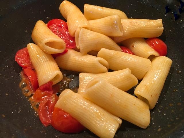 Recette rigatonis pesto de pistaches et mortadelle