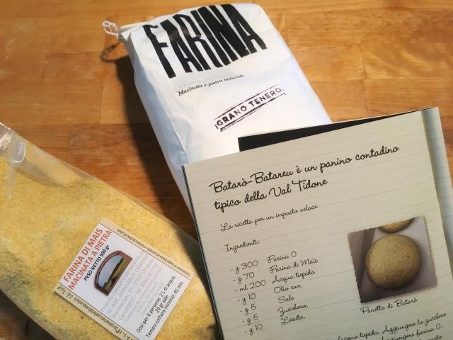 Recette bataro pain pizza a la pancetta et gorgonzola