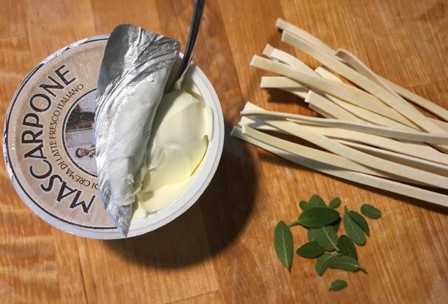 Recette tagliatelles au ragù de veau et mascarpone