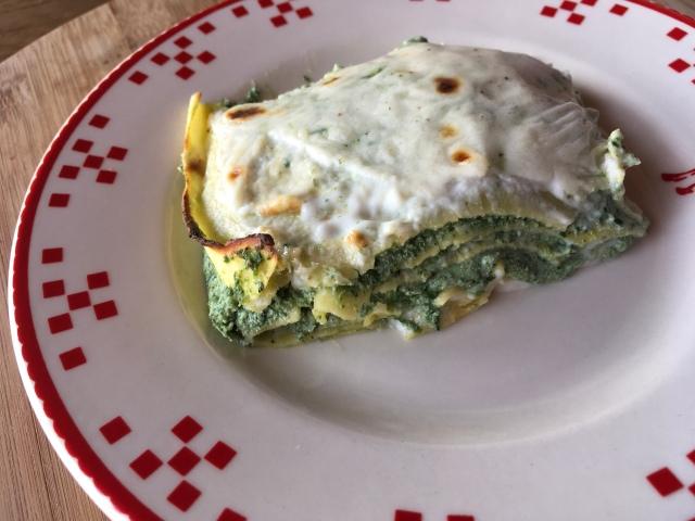 Recette lasagnes épinards ricotta