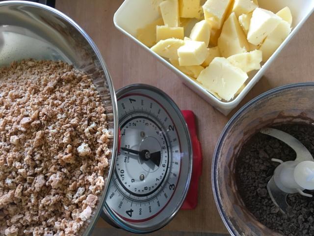 Recette gâteau amaretti et chocolat