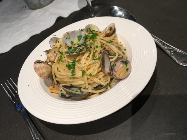Recette spaghettis aux vongole