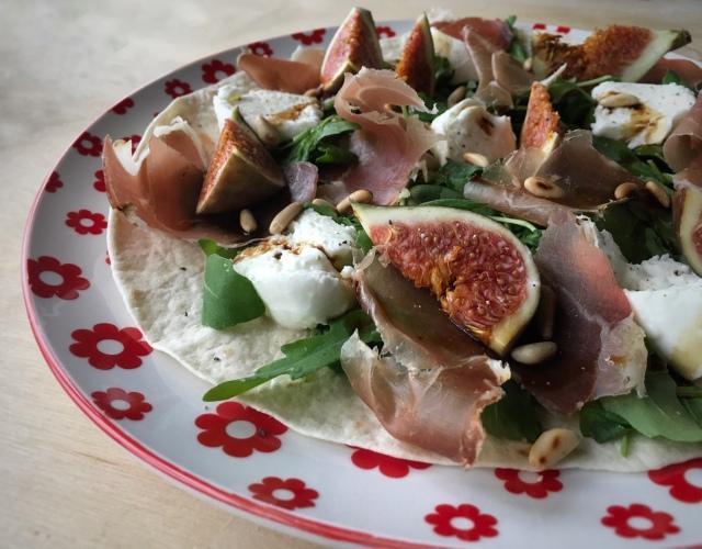 Recette salade figues jambon cru